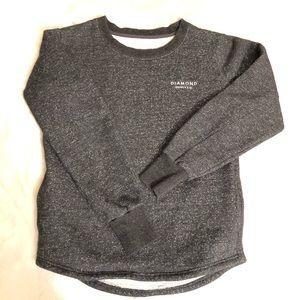 Diamond Supply Embroidered Pocket Crew Sweatshirt